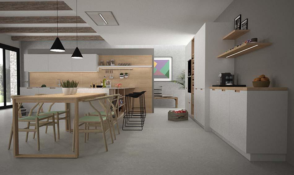 Grupo Inara | Colección Day Forrest | Cocinas de Diseño