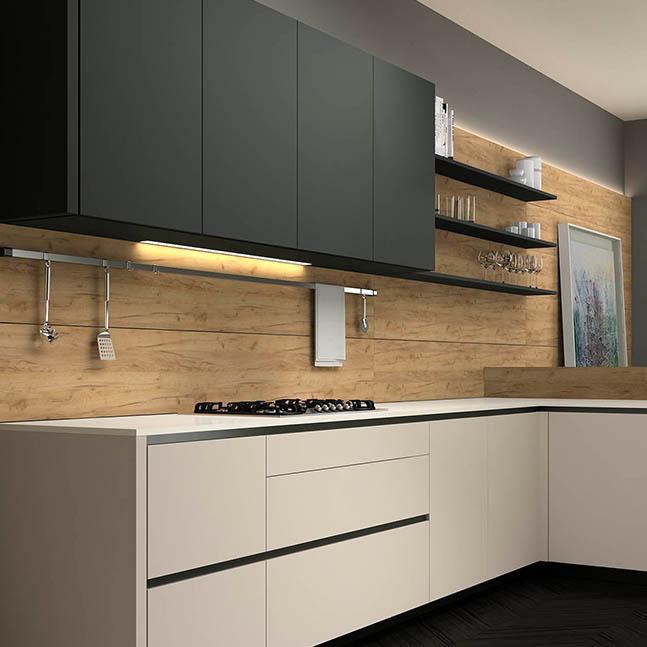 Grupo Inara | Coleccion Quadratta | Cocinas de Diseño