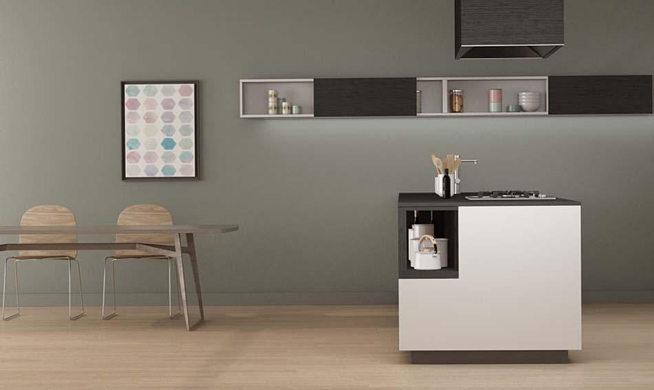 Grupo Inara | Colección Living Quadratta| Cocinas de Diseño