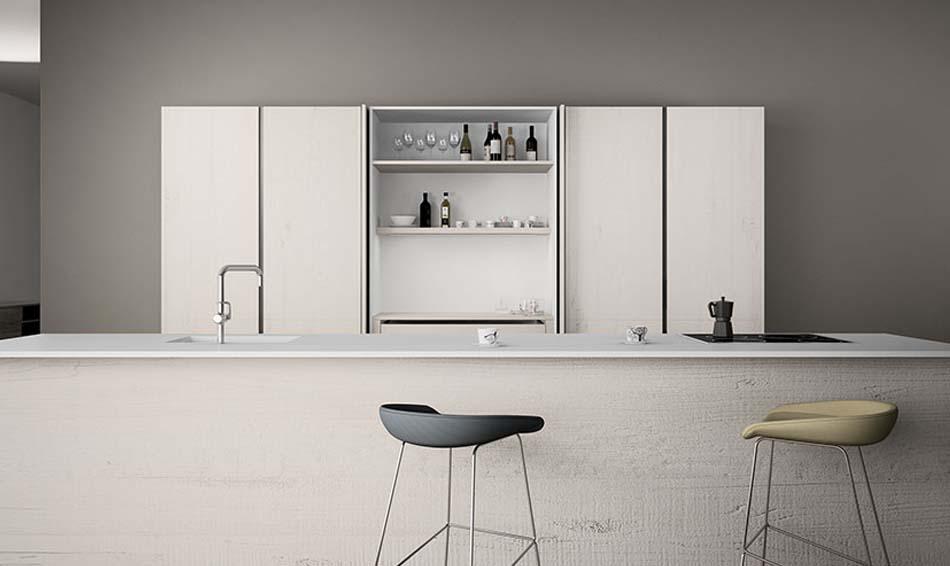 Grupo Inara | Colección Ocean Mist | Cocinas de Diseño