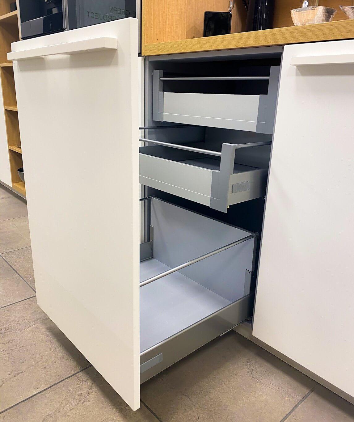 Sistema de cajón interno integrado